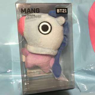 BT21 MANG Bag Charm 100%全新
