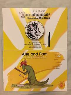 Zoo-phonics Decodable Mini-Book Set (29 Readers)