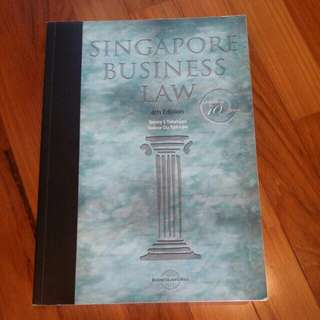 Singapore Business Law 4th edition