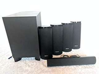 Sony surround sound system with Subwoofer and speakers