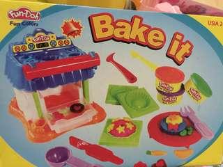 Baking playdough