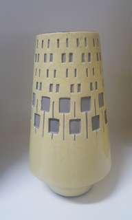 Filipino hand made ceramic vases