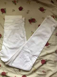 Topshop - Joni Jeans (white)