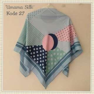 Umama silk scarf