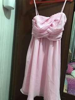 mini dress pink, tali 1