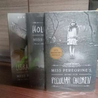 MRS. PEREGRINE'S HOME FOR PECULIAR CHILDREN SERIES