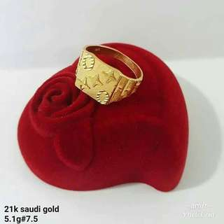 21k saudi gold pasnable
