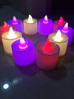 LED candle light decorations