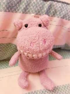 🚚 Ⓜ️大牙娃娃-丁香紫河馬