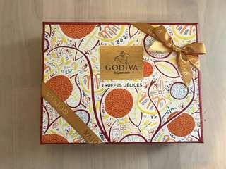 日本outlet直送Godiva朱古力 12粒裝truffle