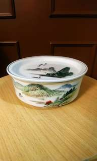 舊工手繪茶盤,