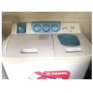 Camel KusotMatic Washine Machine with Spinning Dryer 7.5kg