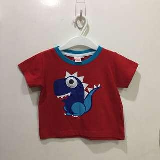 Dinasaur red shirt