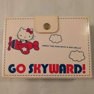 Hello Kitty 膠面 硬卡紙盒