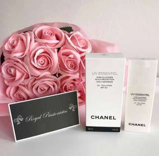 Chanel UV Essentiel Sunblock. SPF 50.