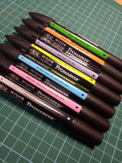 Winsor and Newton Promarkers