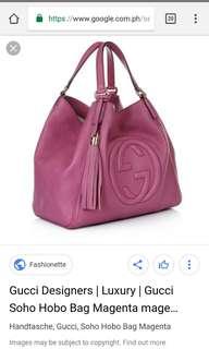 Gucci Designers Soho Hobo Bag