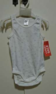 H&M sleeveless onesies -unisex