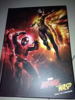 Antman notebook