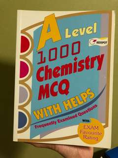 A levels 1000 Chemistry MCQ with Helps