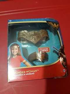 Wonder Woman headdress & armband