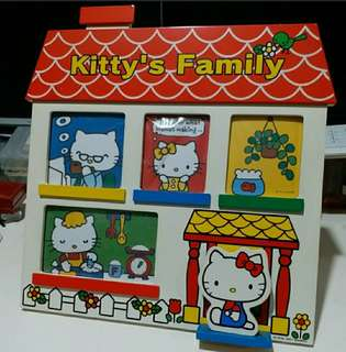 Hello Kitty & Family 相架 懷舊 絕版