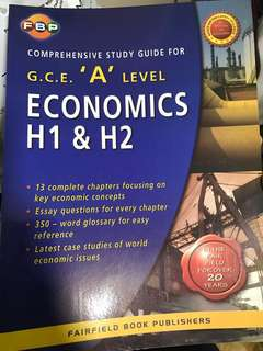 A level econs study guide