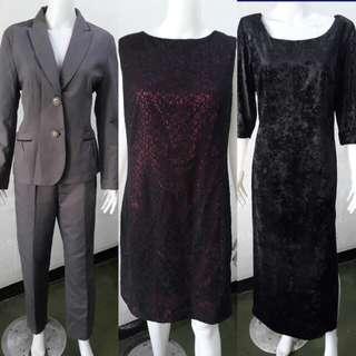 L - XL semi formal outfits