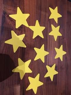 Kid's party deco - stars