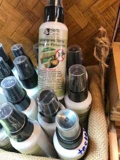 泰國品牌Herb Care香茅蚊怕水