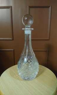 全新懷舊水晶玻璃酒瓶