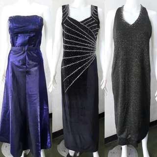 Large Formal gowns