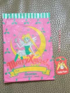 Nakayosi 美少女戰士 Sailormoon 聖誕禮物紙袋