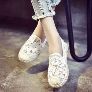 花花平底悠閒懶人鞋
