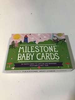 🚚 Milestone Baby Cards