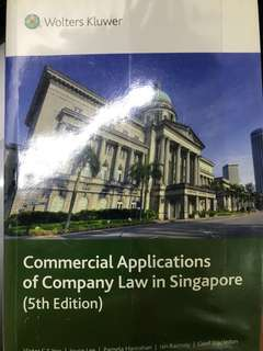 Company Law Textbook