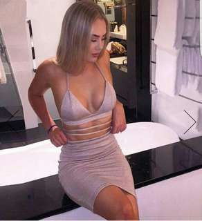 Sparkly two piece