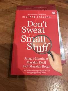 Don't Sweat Small Stuff by Richard Carlson