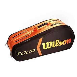 TENNIS - Wilson Burn Molded Racquet Bag (9-Pack)