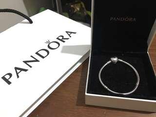 Pandora Heart clasp bracelet 16cm