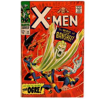 🚚 X-men Vol. 1 #28 - 1st appearance of the Banshee and the Ogre
