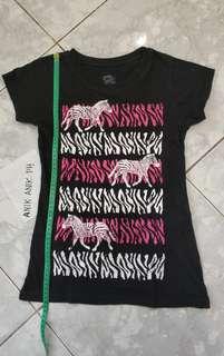 Zebra design shirt