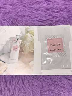 Jill Stuart Body Milk sample pack