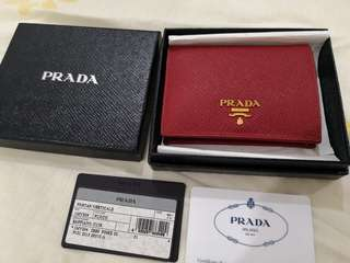 Prada💯%authentic wallet