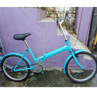 PROGRESS FOLDING BIKE (FREE DELIVERY AND NEGOTIABLE!)