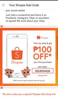 Shopee Voucher