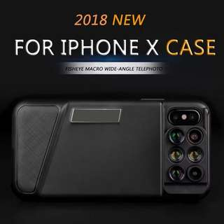 6 in 1 lens iPhone case 六合一鏡頭手機殼