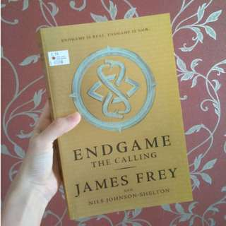 ENDGAME The Calling by James Frey (import novel)