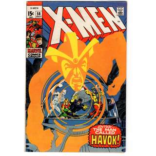 🚚 X-men Vol. 1 #58 - 1st appearance of Havok (Alex Summers)