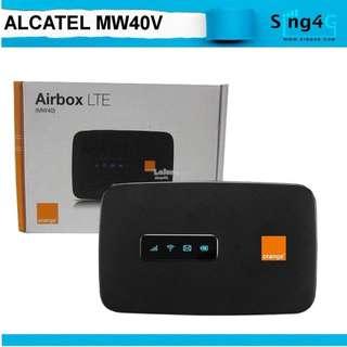 🚚 4G SIM HOTSPOT ALCATEL MW40V  (4G 150mbps 15WIFI Share Max 6hr)